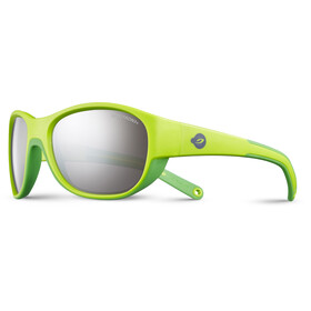 Julbo Kids 4-6Y Luky Spectron 3+ Sunglasses Green/Green-Gray Flash Silver